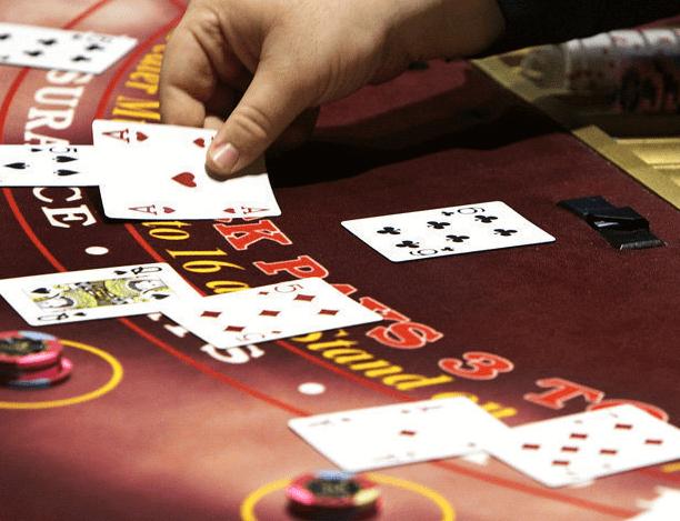 blackjack basic strategy table