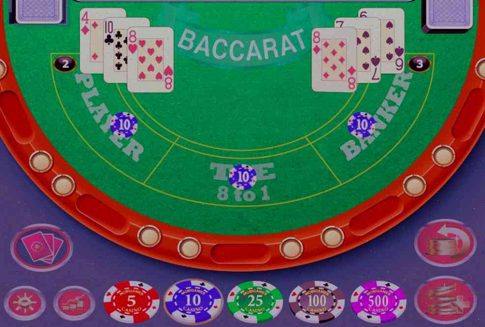 online casino baccarat games play